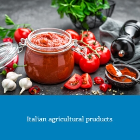 Italian agricultural pruducts