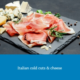 Italian cold cuts & cheese