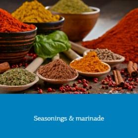 Seasonings & marinade