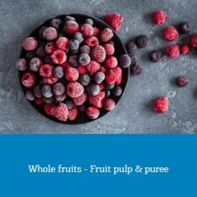 Whole fruits - Fruit pulp & puree