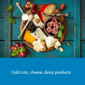 cold cuts cheese dairy products