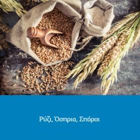 Ρύζια - Όσπρια - Σπόροι